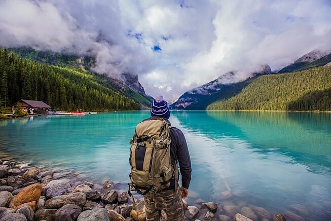 Lake Louise with Grand American Adventures