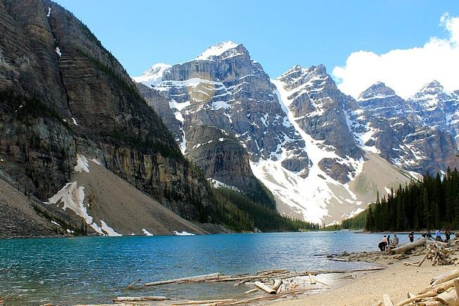 Moraine Lake with Grand American Adventures