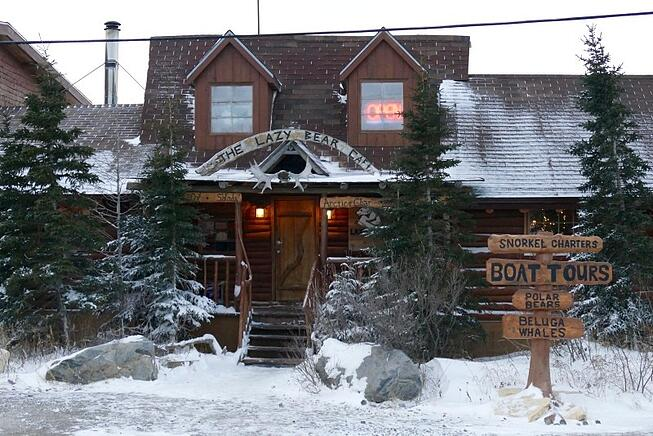 Lazy Bear lodge, Churchill, Canada