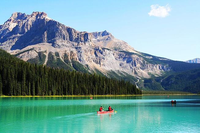 Emerald Lake with Grand American Adventures