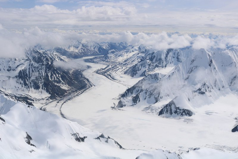 Denali National Park from above