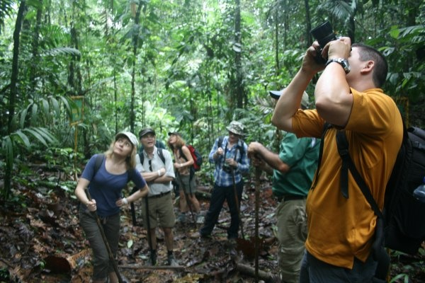 Guided hike in Costa Rica