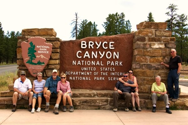 Entrance to Bryce Canyon