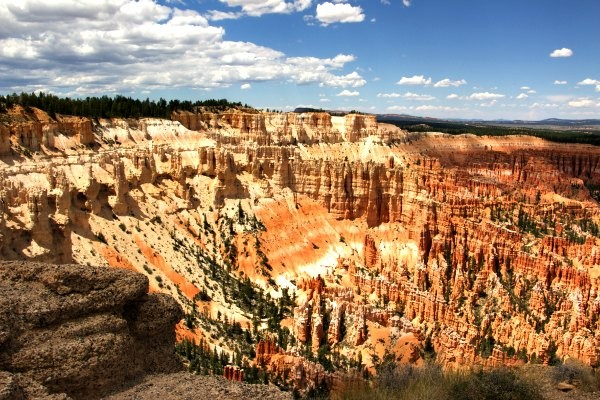 View from top Bryce Canyon