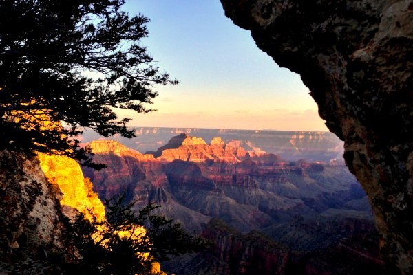 Alternative view of Grand Canyon