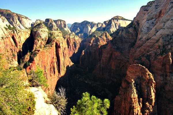 Viewpoint in Zion National Park