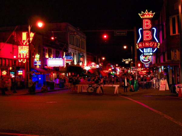 Memphis, Beale Street, BB Kings