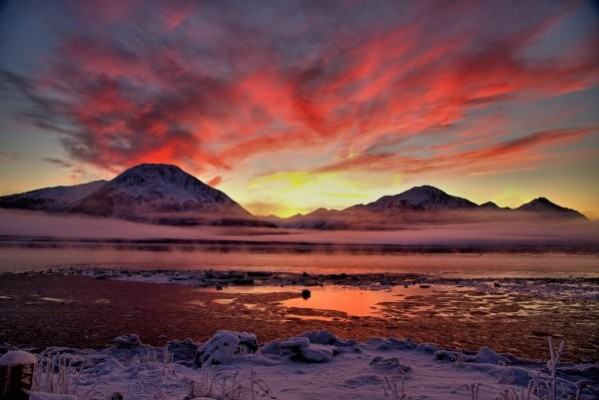 Cook Inlet - Sunset