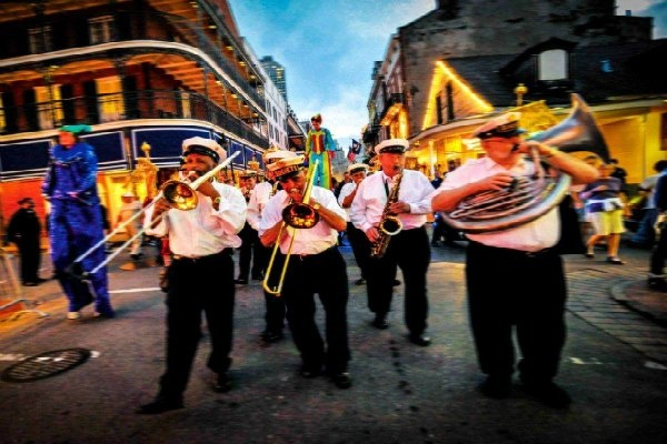 Parade in the French Quarter, New Orleans