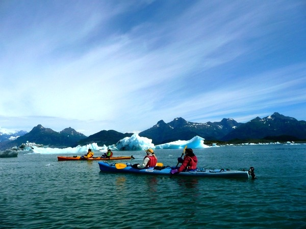 Sea Kayaking in Valdez