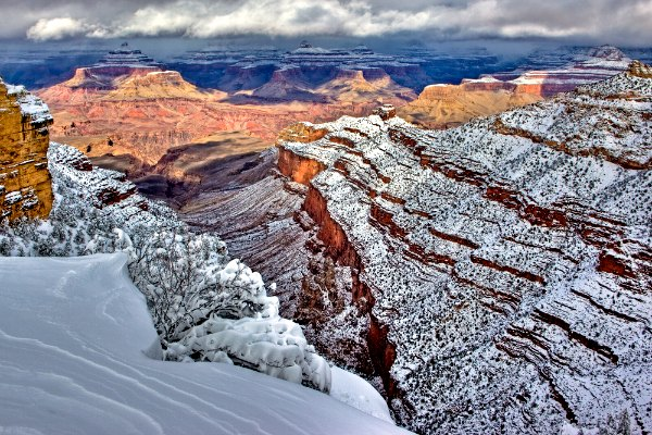 Winter at the Grand Canyon