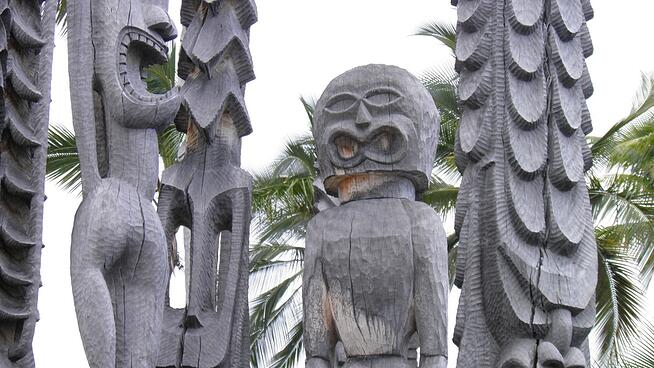 Statues in Hawaii